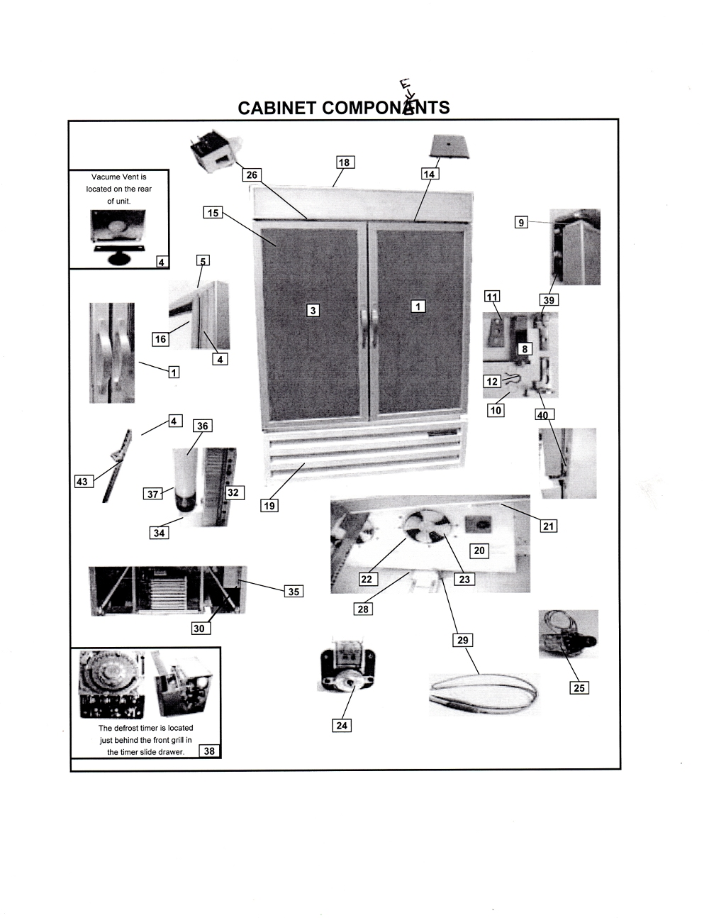 Kenmore Air Conditioner Diagram Not Lossing Wiring Sears Freezer True Refrigerators 831932 Problems Window Unit