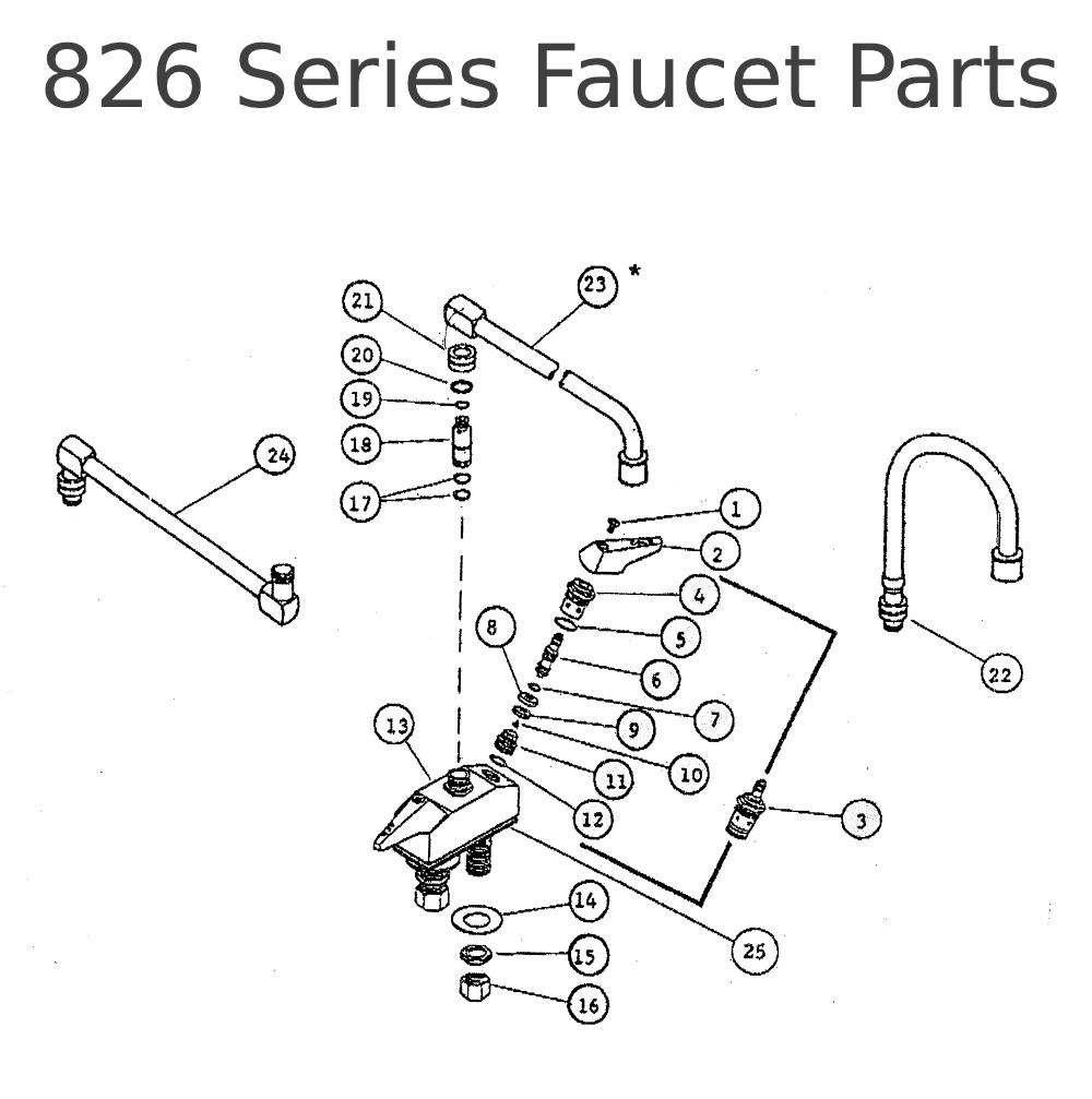Outdoor Faucet Parts Diagram Faucet Design