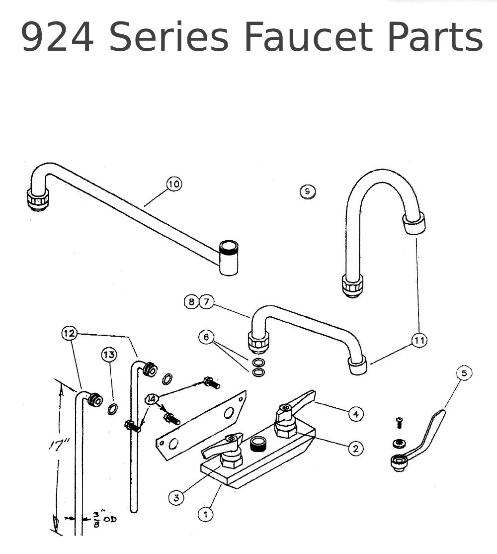 Faucet Parts Diagram Faucet Parts